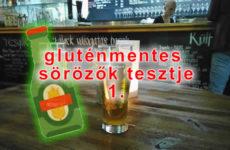 Hideg gluténmentes sör a Gellért-hegy lábánál – Palack Borbár