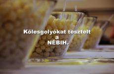 Gluténmentes jelölésű kölesgolyókat is vizsgált a NÉBIH