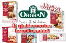 Új gluténmentes termékek, sőt az Orgran termékek mindenmentesek!