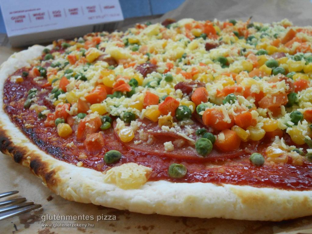 gluténmentes pizza gyorsan egyszerűen Orgran