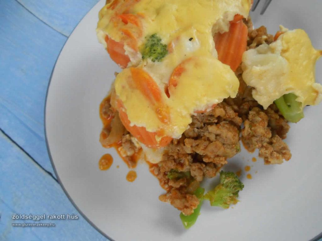 rakott hús gluténmentes egytálétel recept