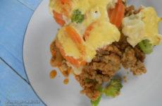 Zöldségekkel rakott hús - gluténmentes egytálétel