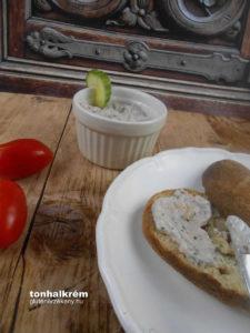 Dardanel tonhalkrém gluténmentes recept