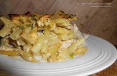 Zöldbabos csirke – gluténmentes egytálétel