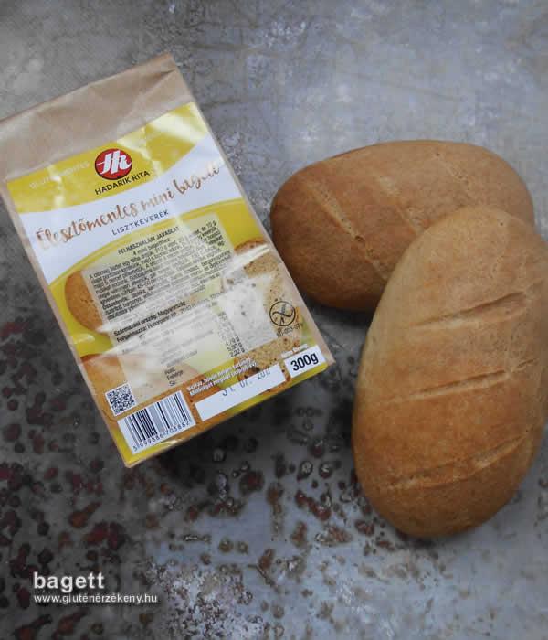 HR gluténmentes bagett recept