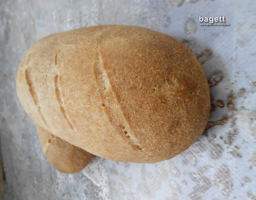 gluténmentes bagett recept Hadarik Rita lisztkeverék