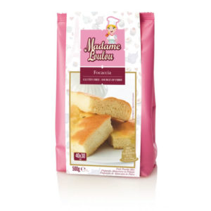 Madame Loulou focaccia gluténmentes liszt