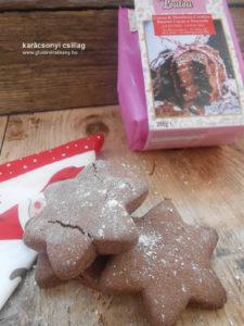 Madame Loulou gluténmentes csillag recept