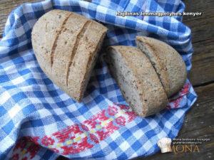 gluténmentes kenyér recept Mona kedvencei