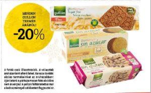 gullon gluténmentes termékek akció