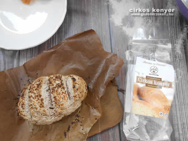 glulu gluténmentes cirkos kenyér recept