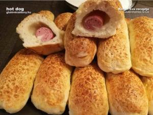 gluténmentes Hotdog recept Íz-lik