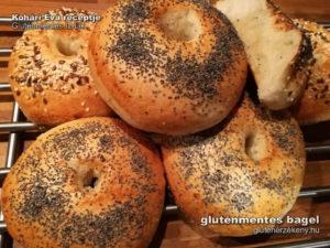 Gluténmentes Íz-Lik bagel recept
