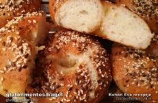 Gluténmentes bagel recept -  klasszikusok gluténmentesen Évától