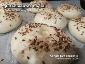 gluténmentes bagel recept Éva, Gluténmentes Íz-Lik