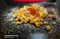 Gluténmentes császármorzsa azaz smarni