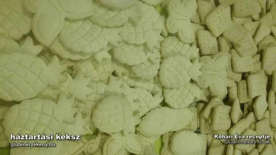 gluténmentes háztartási keksz recept