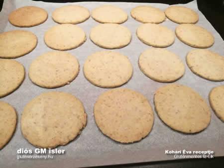 gluténmentes Íz-lik isler recept