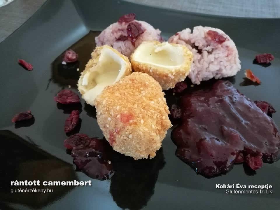 rántott camembert gluténmentes recept