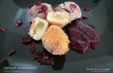 Rántott camembert áfonyás rizzsel - ez is Íz-Lik recept