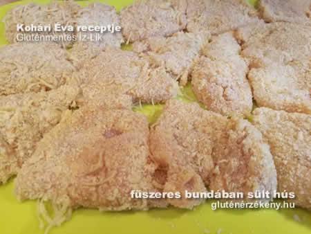 rántott hús gluténmentes bundában