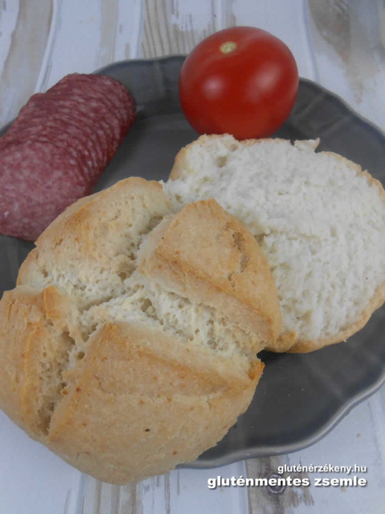 gluténmentes zsömle recept