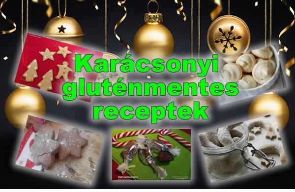 karácsonyi gluténmenteys receptek