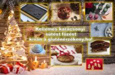 Új karácsonyi gluténmentes receptek