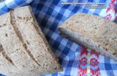 Hajdinás lenmagpelyhes gluténmentes kenyér - Mona kedvencei
