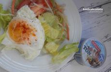 Tonhal saláta recept