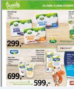 Alpro gluténmentes italok, joghurt alternatívák