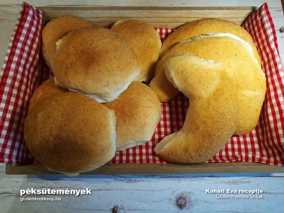 gluténmentes Íz-Lik gluténmentes péksütemények