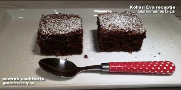 gluténmentes csokoládétorta - Kohári Éva Gluténemntes Íz-Lik