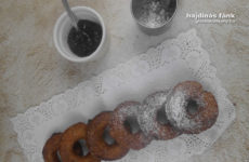 Gluténmentes fánk hajdinával és barna rizsliszttel - IR barát