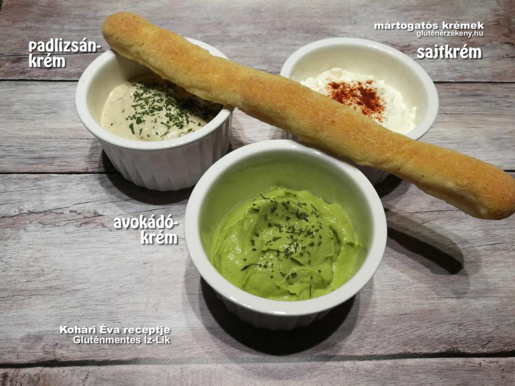 gluténmentes mártogató receptek