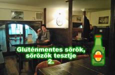 Barna gluténmentes sör Csehországból – Hrabal söröző