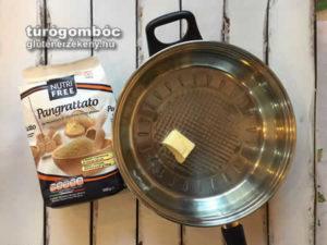 gluténmentes túrógombóc készítés