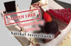Glutenfree sweet-shop tour 3. - gluténmentes sütemények tesztje