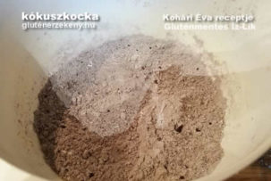 gluténmentes Íz-Lik rovat kókuszkocka gluténmentesen