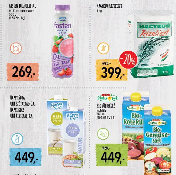 Spar gluténmentes termékek listája