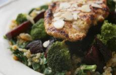 Színes quinoatál fűszeres pulykamellel – avagy *CÖLITÁNYÉR a gyakorlatban