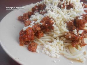 bolognai mártás gluténmentes recept
