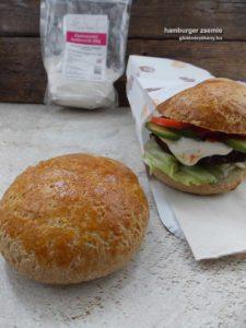 gluténmentes hamburger zsemle recept