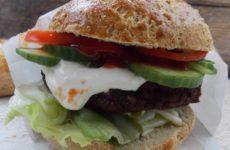 Gluténmentes hamburgerzsemle