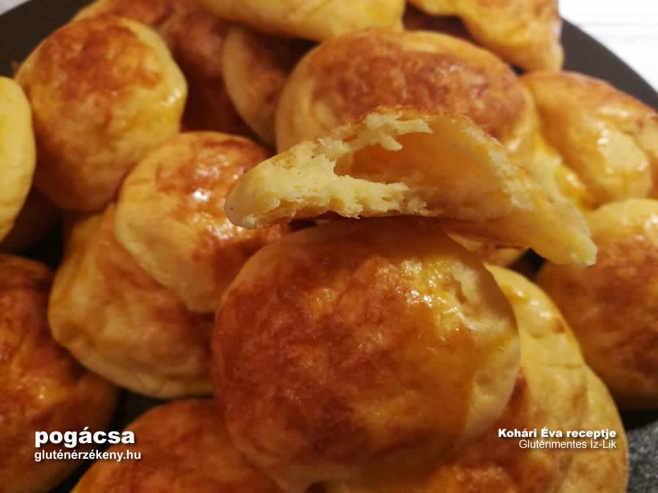 gluténmentes pogácsa recept