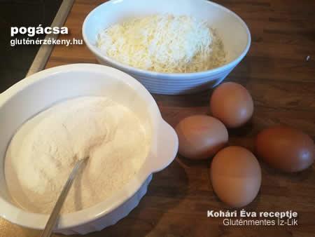 gluténmentes pogácsa recept   gluténmentes Íz-Lik rovat