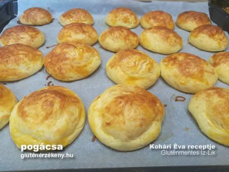gluténmentes sajtos pogácsa recept   Íz-Lik, Kohári Éva rovata