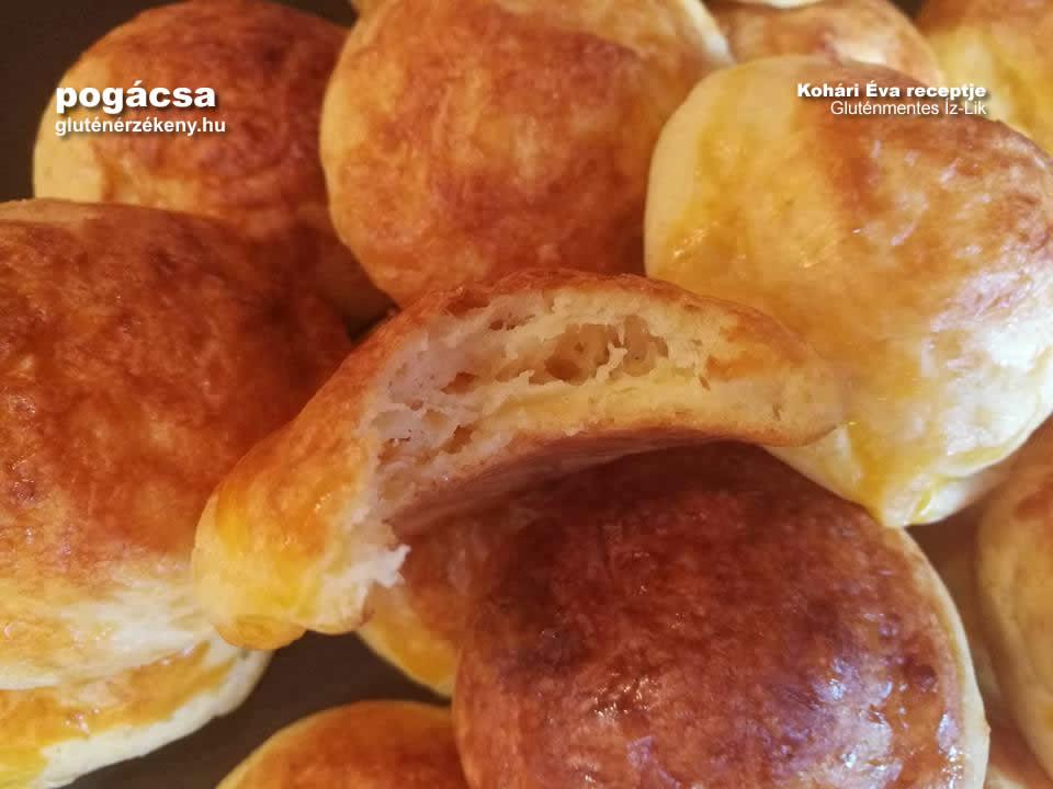 sajtos gluténmentes pogácsa recept   Íz-Lik, Kohári Éva rovata
