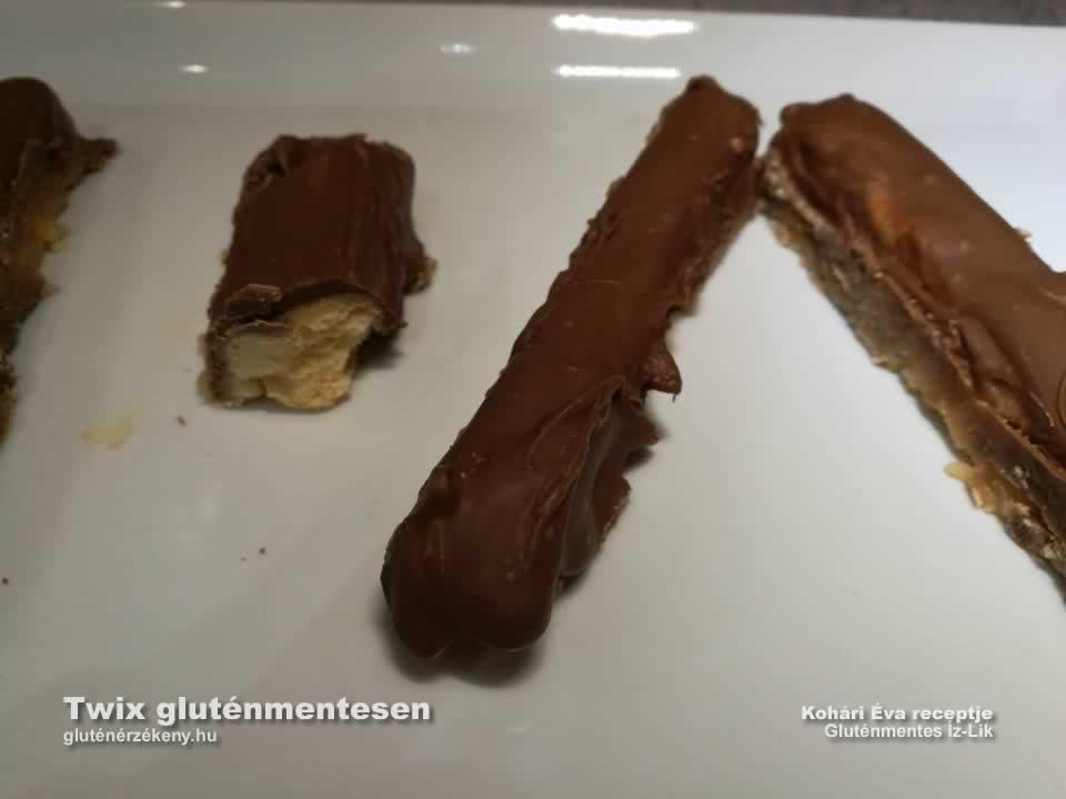 gluténmentes Twix