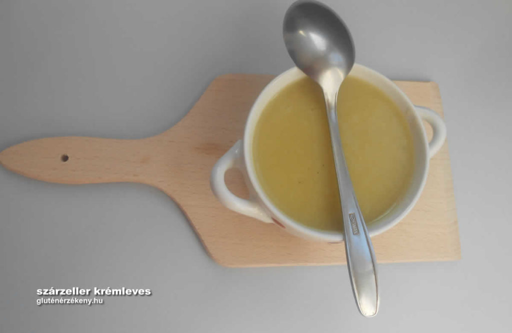 gluténmentes szárzeller krémleves recept